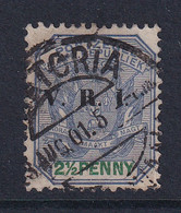 Transvaal: 1900   Flags 'V.R.I.' OVPT  SG229   2½d    Used - Transvaal (1870-1909)