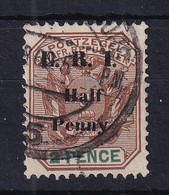 Transvaal: 1901   Flags E.R.I. OVPT - Surcharge    SG243    ½d On 2d     Used - Transvaal (1870-1909)