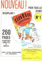 "PUB  "" TINTIN SELECTION N°1 ""  1969 (1) - Altri"