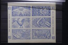 FRANCE - Bloc De Vignettes De La Foire De Paris En 1942 - L 108375 - Blocs & Carnets