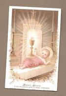 IMAGE PIEUSE De 1893.. édit. Bouasse Lebel M 62.. PRIEZ JESUS Il Est Toujours Prêt à Vous Entendre - Devotion Images