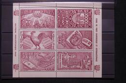 FRANCE - Bloc De Vignettes De La Foire De Paris En 1942 - L 108378 - Blocs & Carnets