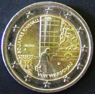 "Germany - 2020 - 2 EUR (50th Anniversary Of The Genuflection Of Warsaw) - Mintmark ""J"" - Vz - Look Scan - Deutschland"