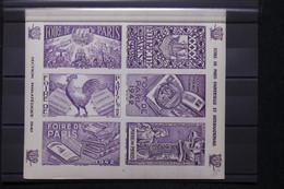 FRANCE - Bloc De Vignettes De La Foire De Paris En 1942 - L 108383 - Blocs & Carnets