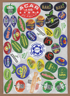 AC - FRUIT LABELS Fruit Label - STICKERS LOT #127 - Fruits & Vegetables