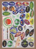 AC - FRUIT LABELS Fruit Label - STICKERS LOT #129 - Fruits & Vegetables