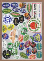 AC - FRUIT LABELS Fruit Label - STICKERS LOT #130 - Fruits & Vegetables