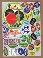 AC - FRUIT LABELS Fruit Label - STICKERS LOT #133 - Fruits & Vegetables
