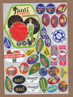 AC - FRUIT LABELS Fruit Label - STICKERS LOT #134 - Fruits & Vegetables