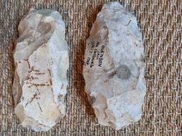 Deux Haches Récoltées à Olendon En Normandie - Archaeology