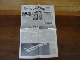 Le Concorde Caractéristiques Et Performances Sud Aviation France Le Transport Civil Supersonique - Manuels