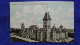 Eastern Black Parliament Buildings Ottawa Canada - Ottawa
