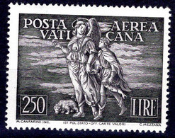 Vaticano (1948) Arcangelo E Tobiolo, 250 Lire ** - Posta Aerea