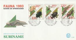 Surinam 1993 FDC - Surinam