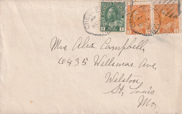 Canada Old Cover Mailed - Covers & Documents