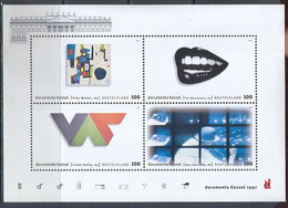 M4328 ✅ Art Painting Pictures Modernism 1997 Germany S/s MNH ** 6ME - Moderni