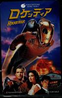 JAPAN  1992 PHONECARD CINEMA ROCKETEER USED VF!! - Cinema