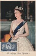 UK 1953 FDc On Postcard - 1952-1971 Dezimalausgaben (Vorläufer)