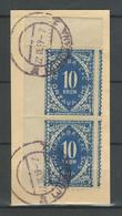 SHS - Chainbreakers 1919 ☀ 10 Krone Porto On The Cut ☀ Used - Usati