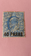 GRANDE-BRETAGNE - Postage Revenue - Timbre 1902 : Anniversaire De L'avènement D'Edouard VII - Used Stamps
