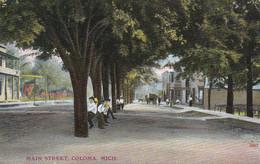 COLOMA, Michigan, PU-1908; Main Street - Andere