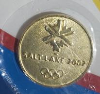 01429 Le Medaglie Ufficiali Delle Olimpiadi N. 8 - Salt Lake City 2002 -Gazzetta - Bekleidung, Souvenirs Und Sonstige