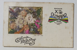 31704 70crt/ Souvenir X Olimpiade Los Angeles California 1932 - Bekleidung, Souvenirs Und Sonstige