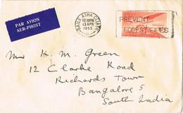 42017. Carta Aerea BAILE ATHA CLIATH (Dublin) Irlanda 1955. Prevent FOREST FIRES - Covers & Documents