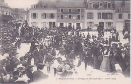 72 - MAYET - CORTEGE DE LA CAVALCADE 12 AVRIL 1909 - Mayet