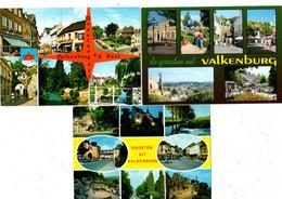 Groeten Uit VALKENBURG - Lot Van 3 Kaarten - Verzonden - Valkenburg