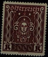 AUSTRIA 1922 WOMAN HEAD MI No 406 MNH VF!! - Ongebruikt