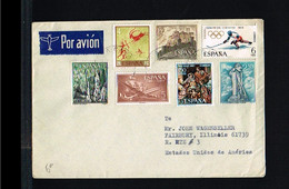 Misc.Topics - Lot Of Stamps - Cover Spain 1968 [FG002] - Andere