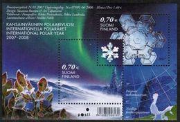 2007 Finland Michel Block 42 Int. Polar Year  MNH **. - Blocks & Kleinbögen