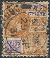 British Guiana. 1921-27 KGV. 12c Used. Mult Script CA W/M. SG 277 - British Guiana (...-1966)