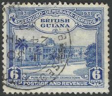 British Guiana. 1931 Centenary Of County Union. 6c Used. SG 286 - British Guiana (...-1966)