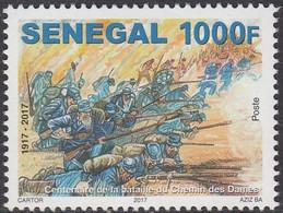 Senegal 2017 1ère Guerre Mondiale, Verdun, Tranchées, Poilus, Chemin Des Dames - Prima Guerra Mondiale