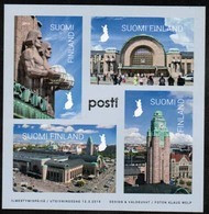 2019 Finland, Helsinki Railway Station Min.sheet MNH. - Blocks & Kleinbögen