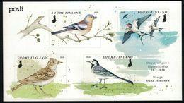 2020 Finland Miniature Sheet Spring Birds MNH **. - Blocks & Kleinbögen