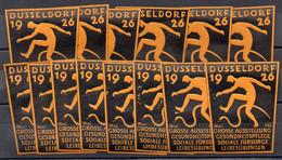 DP332/ 14 X Reklamemarke Vignette Düsseldorf Ausstellung 1926 Gesolei - Altri