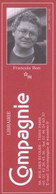 Marque-page - Librairie Compagnie / Editions De Minuit - 75005 - ( LIB-47 ) - Segnalibri