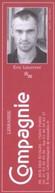 Marque-page - Librairie Compagnie / Editions De Minuit - 75005 - ( LIB-48 ) - Segnalibri