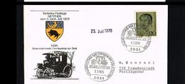 Transport - Busses - 75 Jahre Erste Motorisierte Omnibuslinie - Cover With Mi. 623 Germany 1970 [HN013] - Bussen