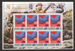 Aitutaki - MNH Sheet (2) - 70 YEARS ANNIVERSARY D-DAY - NORMANDY - Seconda Guerra Mondiale