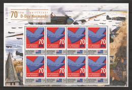 Aitutaki - MNH Sheet (1) - 70 YEARS ANNIVERSARY D-DAY - NORMANDY - Seconda Guerra Mondiale