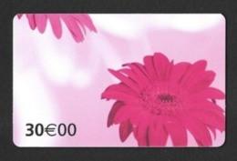 Carte Cadeau  AUCHAN Sur Encart (3 Scan).  Bonne Fête Maman !   Gift Card.  Geschenkkarte.  Carta Regalo. - Gift Cards