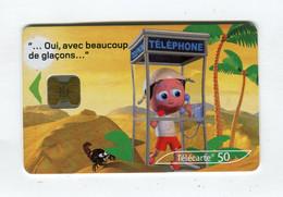 Telecarte 50u °_ 1260-Critiques 3-Désert-Ob-10.02-1643 Haut- R/V - 50 Unità