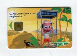 Telecarte 50u °_ 1260-Critiques 3-Désert-Ob-10.02-6809 Serré- R/V - 50 Unità