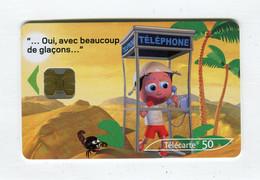 Telecarte 50u °_ 1260-Critiques 3-Désert-Ob-10.02-9626 Gras- R/V - 50 Unità