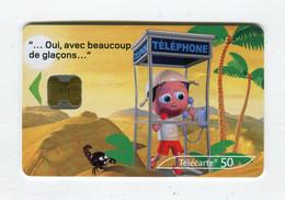 Telecarte 50u °_ 1260-Critiques 3-Désert-Ob-10.02-9935 Haut- R/V - 50 Unità