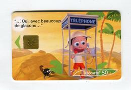 Telecarte 50u °_ 1260A-Critiques 3-Désert-Gem2-02.03-5111 Haut- R/V - 50 Unità